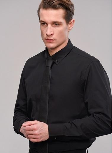 People By Fabrika Gömlek Siyah